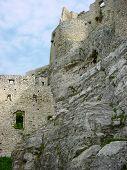Spis Castle Walls