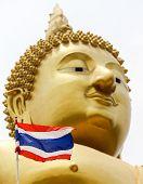 Thailand Frag and Golden Buddha Face