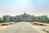 Astana. The Building Of The Ministry Of Defence