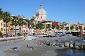 Pegli beach in Genoa