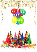 Party Decoration And Colorful Air Balloons