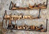 tools - planes in the workshop