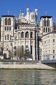 Saint Jean Cathedrale And Notre Dame De Fourviere Basilica