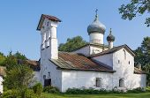Church Of The Holy Image Of The Saviour Not Made By Hands, Pskov