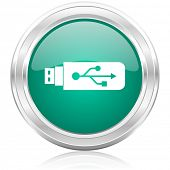 usb internet icon