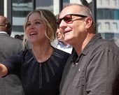 LOS ANGELES - SEP 9:  Christina Applegate, Ed O'Neill at the Katey Sagal Hollywood Walk of Fame Star