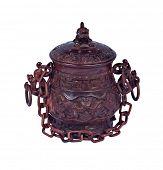 Chinese art wood carving handicraft