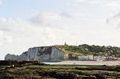 View Beach Of etretat Cote D'albatre