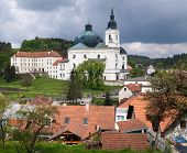 Pilgrimage Church And Monastery In Krtiny