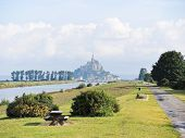 Scenic With Mont Saint-michel Abbey, Normandy