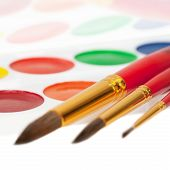 Paints And Brushes - Tools For Children's Creativity