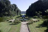 Caserta Royal Palace, Main Park