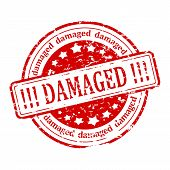 Red Stamp - Damaged