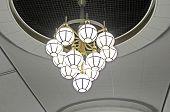 Lamp In The Kyiv Subway Station, Kyiv, Ukraine