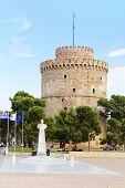 White Tower In Thessaloniki, Greece