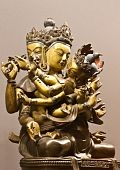 pic of tantric  - Statue of holy couple south east of Asia - JPG