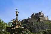 Castle Rock Edinburgh Scotland