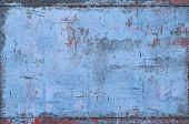 Blue Grungy Metal Texture