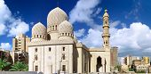 stock photo of masjid  - Mosque of Abu El Abbas Masjid Alexandria Egypt - JPG