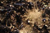 White Quartz Crystal Mineral Texture