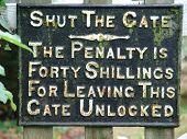 shutthegate
