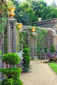 image of royal botanic gardens  - VERSAILLES FRANCE  - JPG