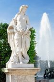 pic of versaille  - Beautiful garden in a Famous palace Versailles Paris France - JPG
