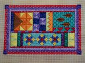 Colourful Embroidery.