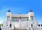 Venice Square In Rome. Italy