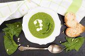 Delicious Spinach Soup.