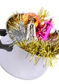 picture of saucepan  - Funny Christmas and New Year - JPG