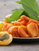 image of apricot  - Natural organic dried apricots - JPG