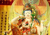 picture of yin  - Chinese statue - JPG