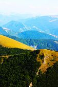 Beautiful Landscapes of the mountains taken in the Apennines