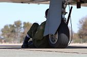 Military Pilot poster