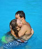 Lovers Couple Pool
