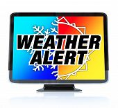 Weather Alert - High Definition Television Hdtv