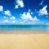 arena de Playa Caribe