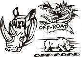 Off-road symbols.
