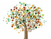 Abstract Tree - Vector