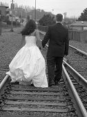 Runaway Bride And Groom