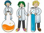 Laboratório Kids - vetor