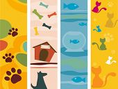 picture of paw-print  - Pet Vertical Banners  - JPG