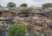 Ruins At Montezuma Well