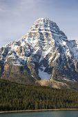 Snowy Peak In The Rockies