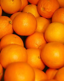 stock photo of mandarin orange  - oranges lots and lots of oranges  - JPG
