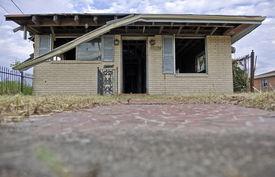 image of katrina  - Destructed House after Hurricane Katrina - JPG