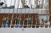 Fastening Of Sails