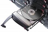 Open Hard Disk In Hot Swap Frame