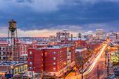 Richmond, Virginia, USA downtown cityscape. poster